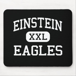 Einstein - Eagles - joven - Appleton Wisconsin Alfombrillas De Ratones