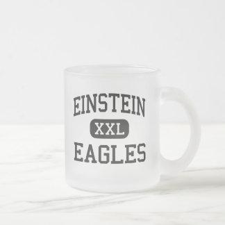 Einstein - Eagles - joven - Appleton Wisconsin Taza Cristal Mate