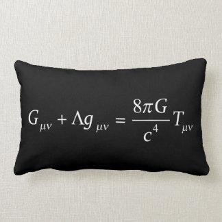 Einstein field equation lumbar pillow