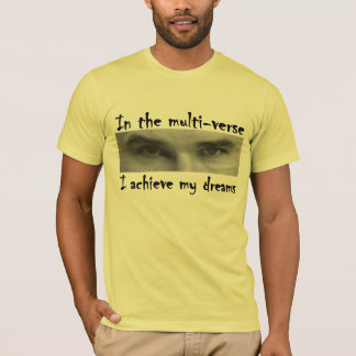 Einstein Multiverse black T-Shirt