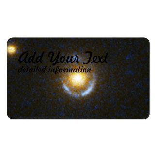 Einstein Ring Gravitational Lens Business Card