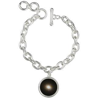 Einstein Ring Gravitational Lens Charm Bracelet