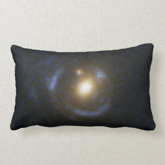 Einstein Ring Gravitational Lens Throw Pillow