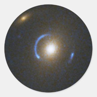 Einstein Ring Gravitational Lens Classic Round Sticker