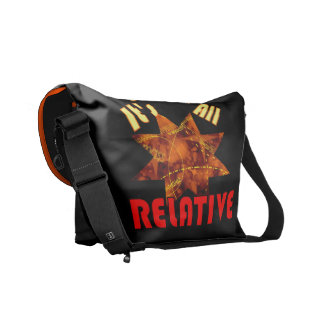Einstein theory Nerds Rule funny Courier Bag