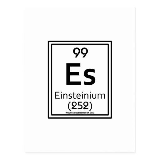 Einsteinio 99 tarjeta postal