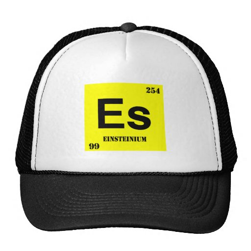 Einsteinium Mesh Hats