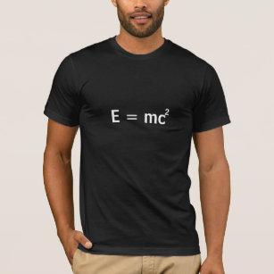 2fdd2251b Einstein's famous formula E=mc^2, but with a twist T-Shirt
