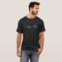 Einstein's Field Equation Science Mathematical T-Shirt