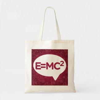 Einsteins Sign Budget Tote Bag