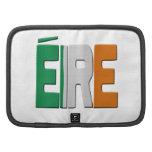 Eire - bandera irlandesa planificador