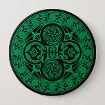 Eire: Celtic Irish ambigram Button