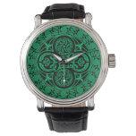 Eire: Celtic Irish ambigram Wristwatch