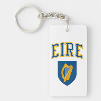 EIRE + Coat of Arms Keychain