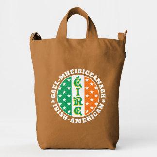 Éire Flag Irish American Pride Duck Bag