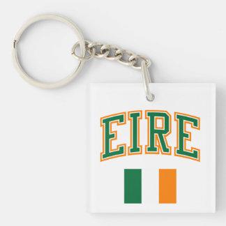 EIRE + Flag Keychain
