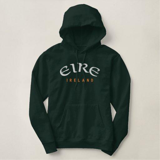 EIRE, Ireland Embroidered Hoodie