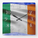 EIRE - IRELAND Flag Proud Patriotic Wall Clock