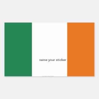 Eire Ireland flag sticker