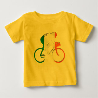 Eire Irish cycling flag of Ireland bicycle gear Baby T-Shirt