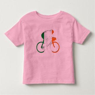 Eire Irish cycling flag of Ireland bicycle gear Toddler T-shirt