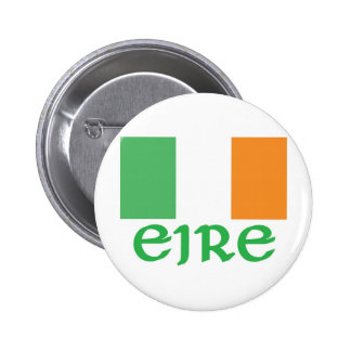 EIRE Irish Flag Pinback Button