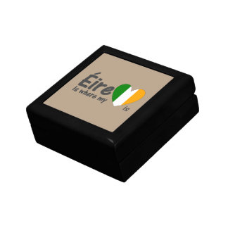 Éire is where my heart is Irish Keepsake Box