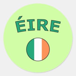 Eire Classic Round Sticker
