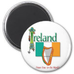 Eire To The World Magnet