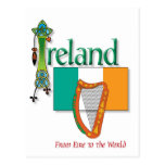 Eire To The World Postcard