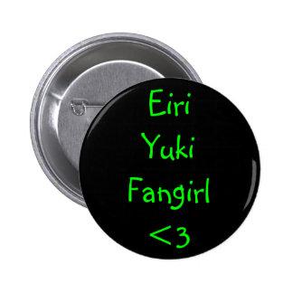 Eiri Yuki Fangirl <3 Pin Redondo De 2 Pulgadas