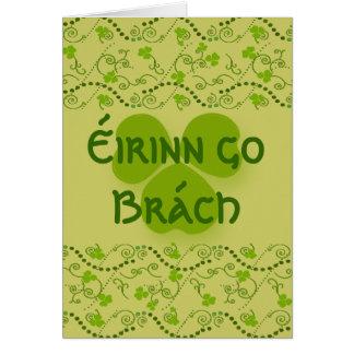 Eirinn go Brach  Ireland Forever Card