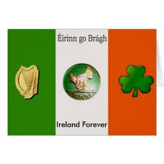 Eirinn go bragh, Ireland Forever Card