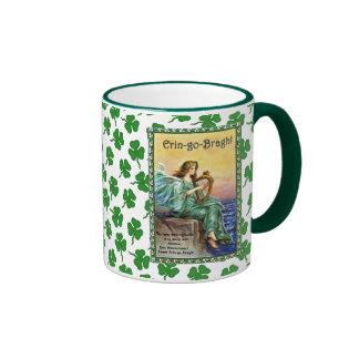 Éirinn with Harp Ringer Coffee Mug