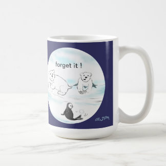 eisbär-Tasse taza oso blanco engl.