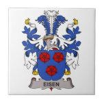 Eisen Family Crest Tiles