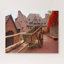Eisenach Fortress Wartburg Germany. Jigsaw Puzzle