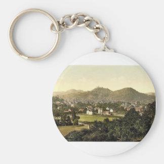 Eisenach, Thuringia, Germany classic Photochrom Key Chains