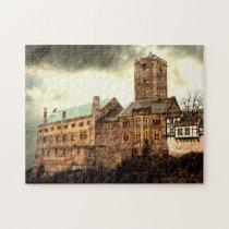 Eisenach Wartburg Castle Germany. Jigsaw Puzzle