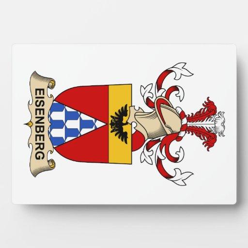Eisenberg Family Crest Photo Plaque