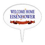 Eisenhower casero agradable figuras de tarta