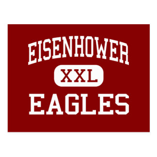 Eisenhower - Eagles - Junior - Hoffman Estates Postcard