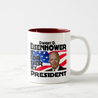 Eisenhower Forever Two-Tone Coffee Mug