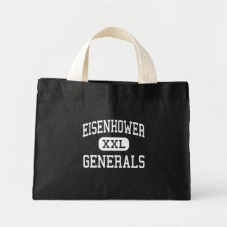 Eisenhower - Generals - Junior - Darien Illinois Canvas Bag