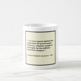 Eisenhower Military-Industrial Complex Speech Classic White Coffee Mug