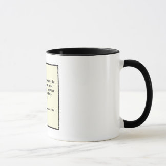 Eisenhower Military-Industrial Complex Speech Mug