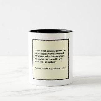 Eisenhower Military-Industrial Complex Speech Two-Tone Coffee Mug
