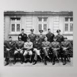 Eisenhower, Patton, Bradley, y otros Poster