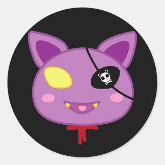 Eitel the Bat Classic Round Sticker