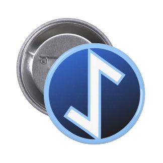 Eiwaz Yew Rune Button